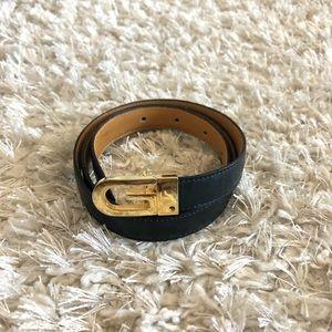 Gucci Womens Vintage VTG Reversible Leather Belt